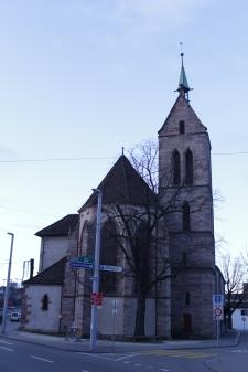 Die dazugehörende Theodorskirche - oder wars umgekehrt?