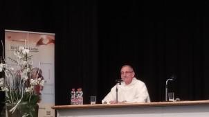 Unser Mitbruder P. Guido Vergauen von Fribourg während dem Schlusswort