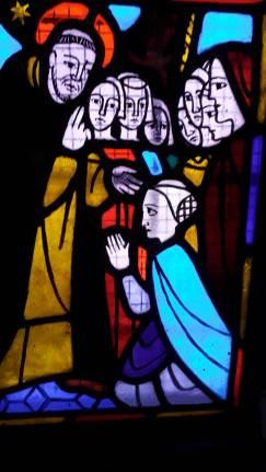 Der hl. Dominikus unterrichtet die Schwestern